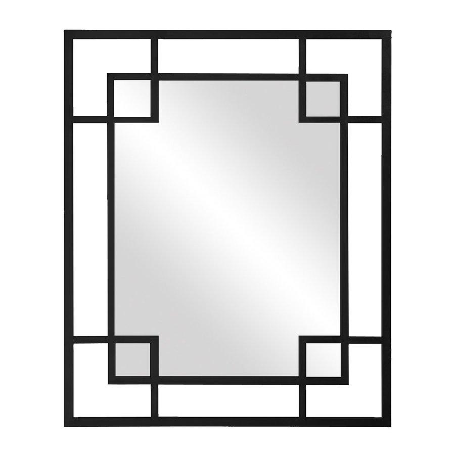 Howard Elliott Lois Black Framed Wall Mirror