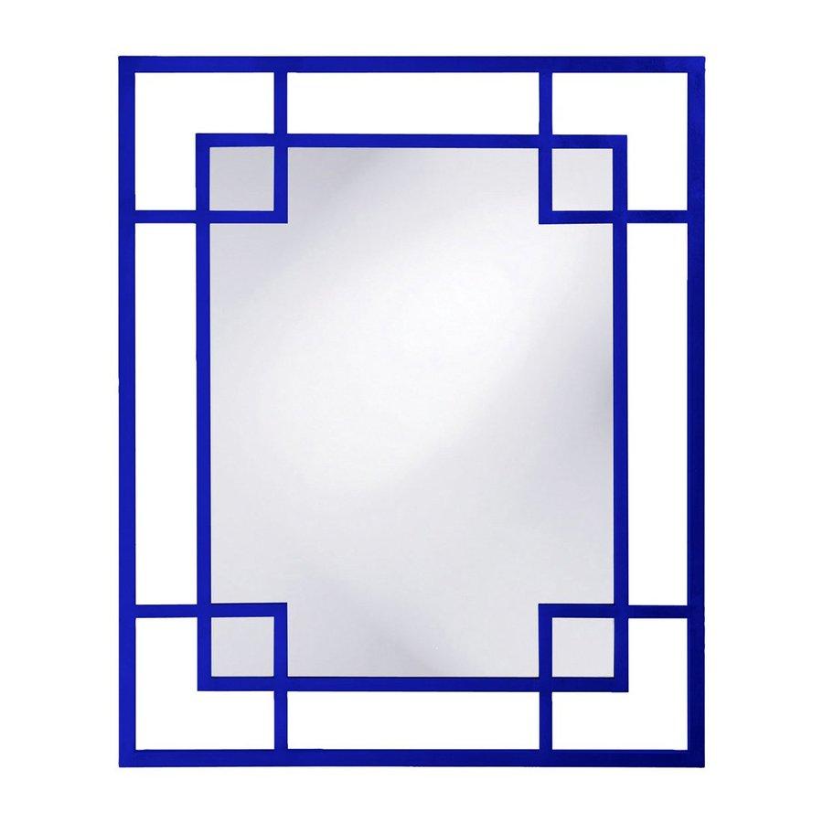 Howard Elliott Lois Royal Blue Framed Wall Mirror