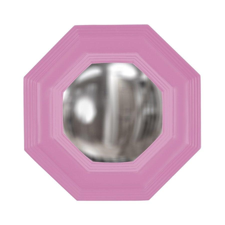 Howard Elliott Triton Hot Pink Octagon Wall Mirror