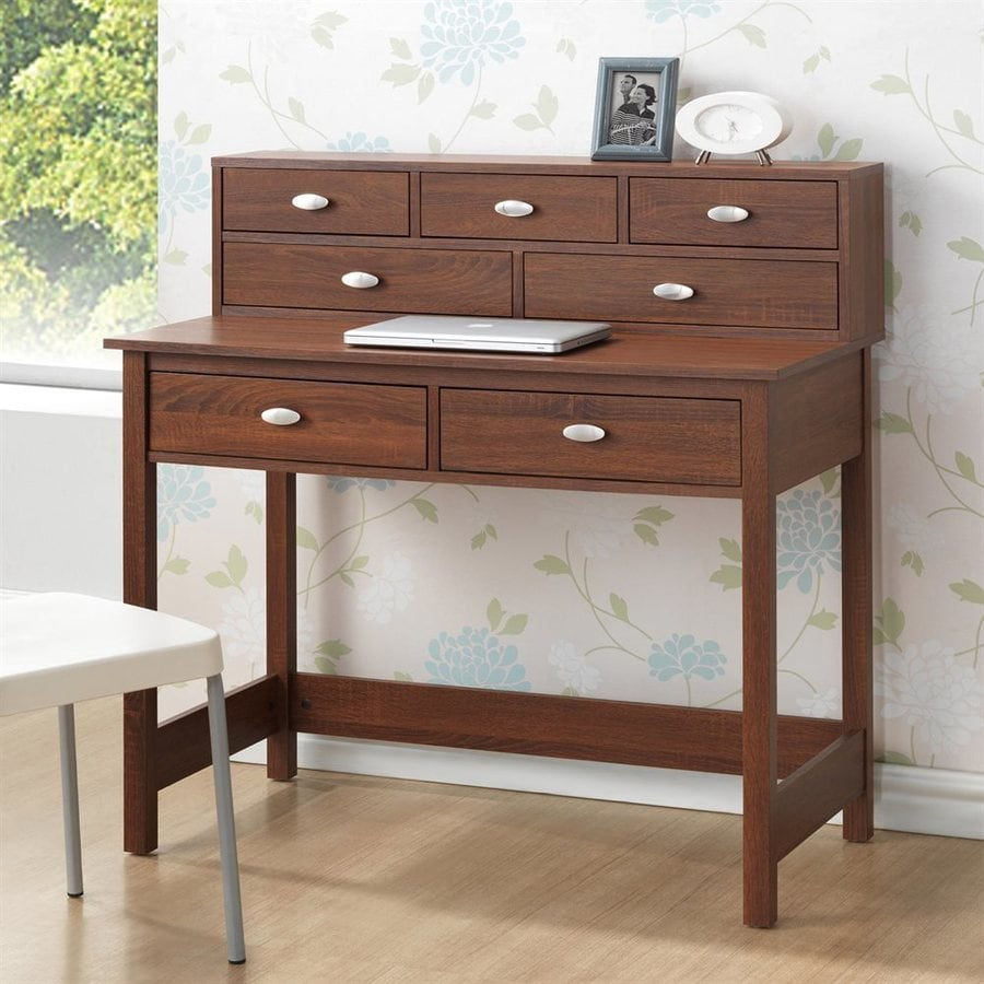 home decorators collection sonoma oak shop baxton studio mckinley sonoma oak writing desk at 12883