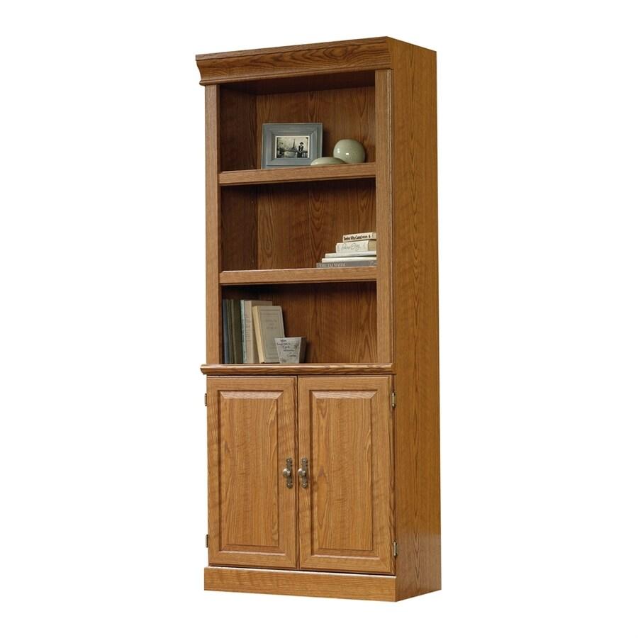Sauder Orchard Hills Carolina Oak 5-Shelf Bookcase