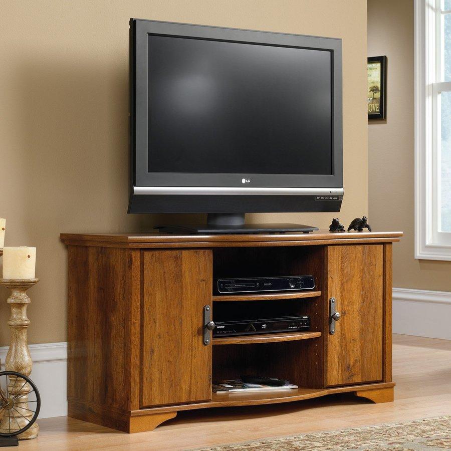 Sauder Harvest Mill Abbey Oak TV Cabinet