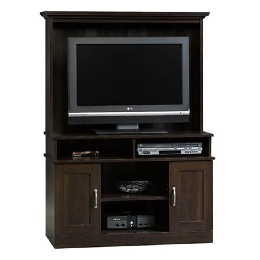Sauder Cinnamon Cherry Tv Cabinet At Lowes Com