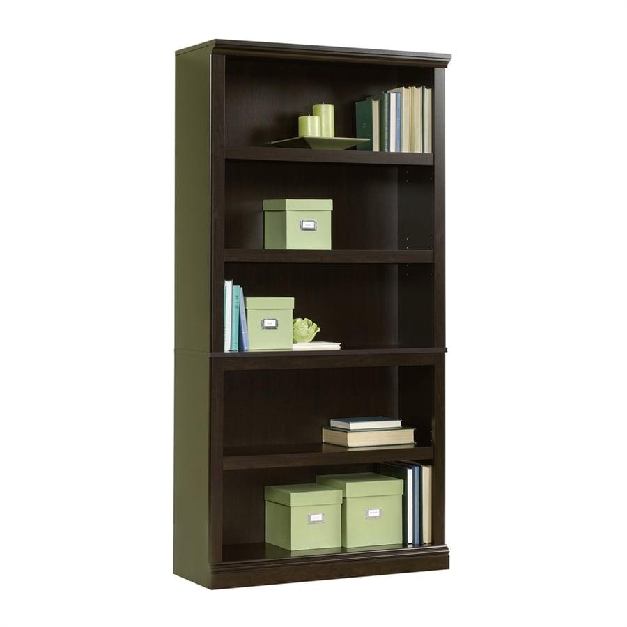 Sauder Jamocha Wood 5-Shelf Bookcase