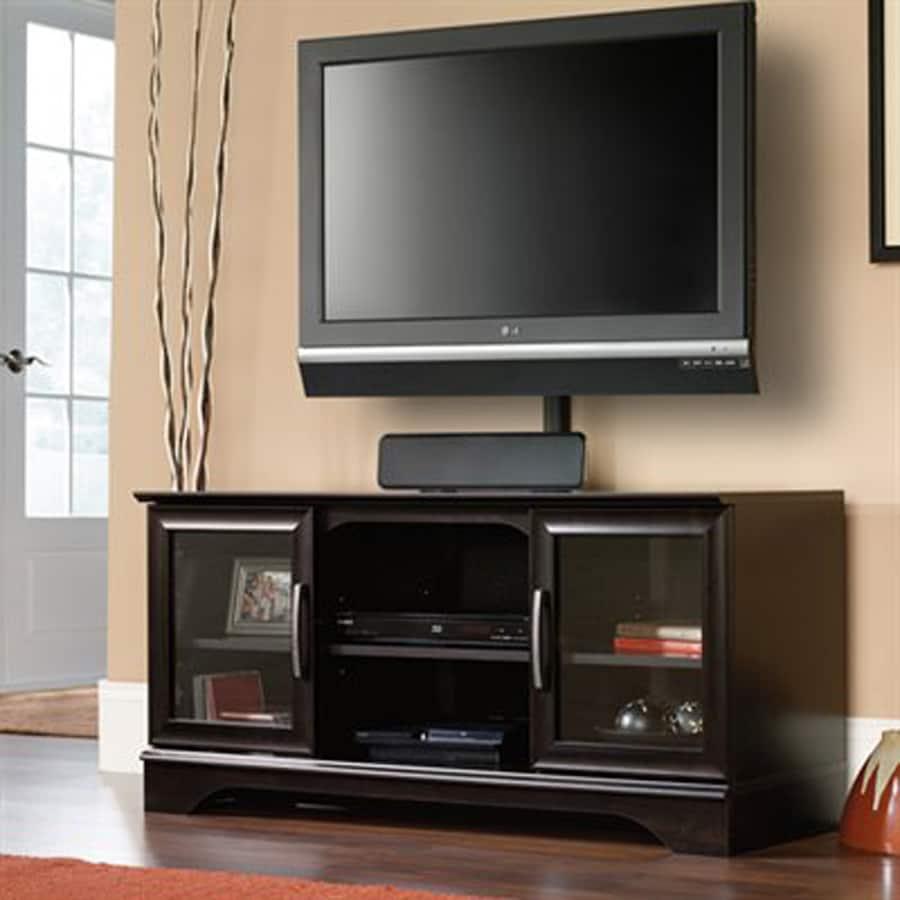 Sauder Estate Black Universal TV Stand