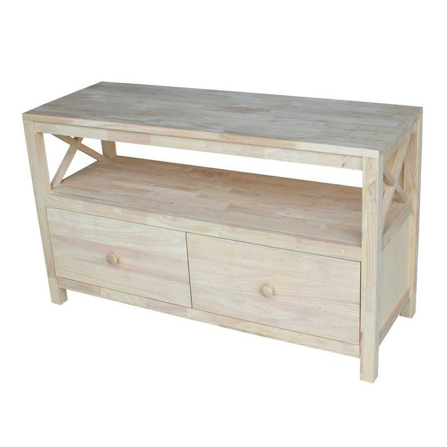 International Concepts Hampton Natural Universal TV Stand