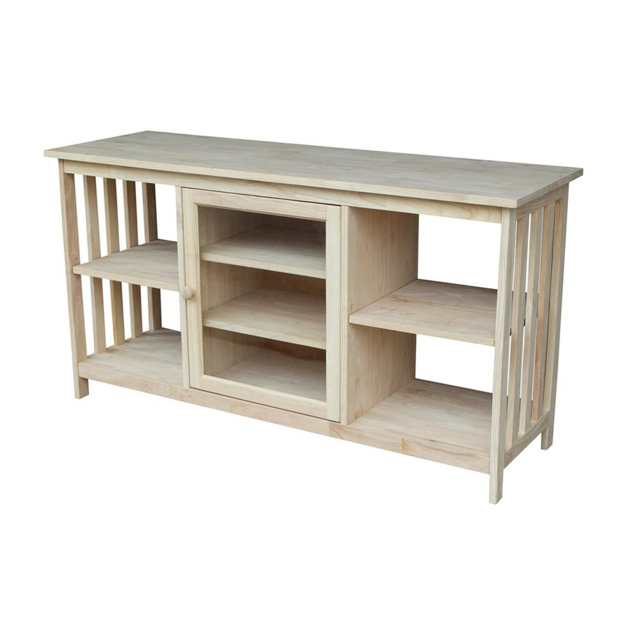 International Concepts Mission Natural Universal TV Stand