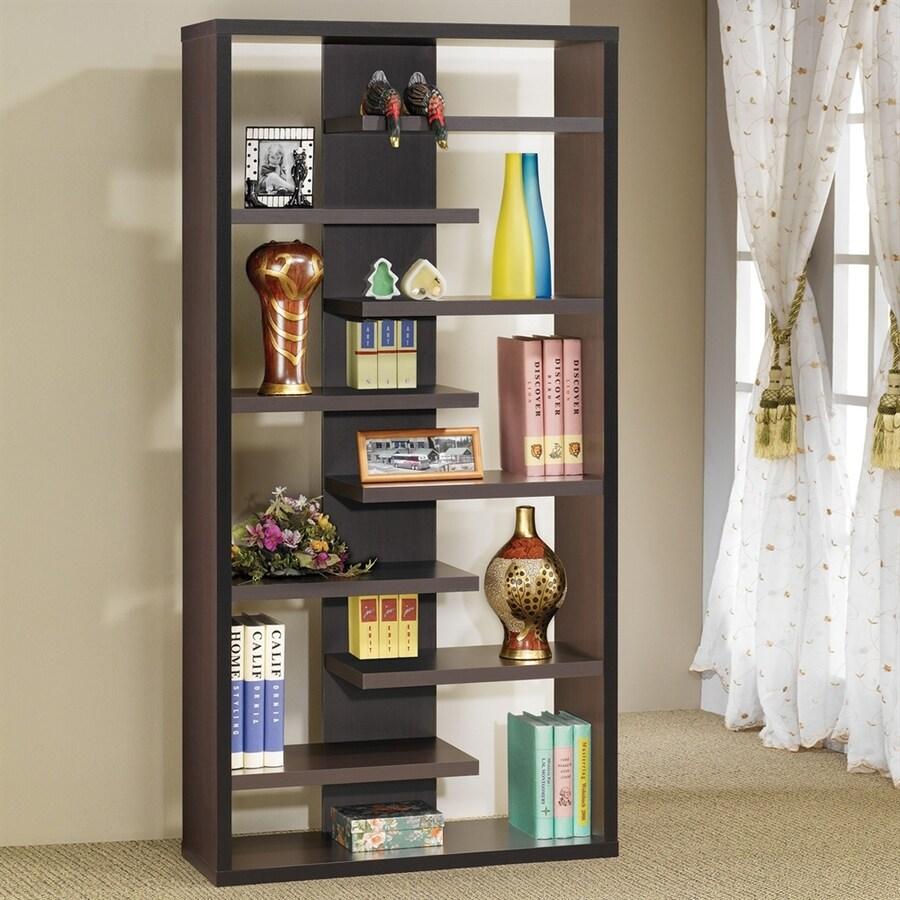 Coaster Fine Furniture Cuccino 9 Shelf Bookcase