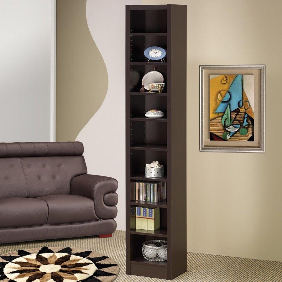 Coaster Fine Furniture Cappuccino 9-Shelf Bookcase