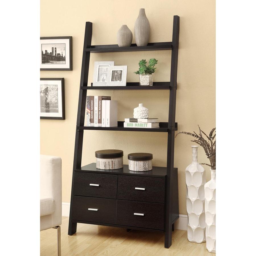 Coaster Fine Furniture Cappuccino 4-Shelf Bookcase