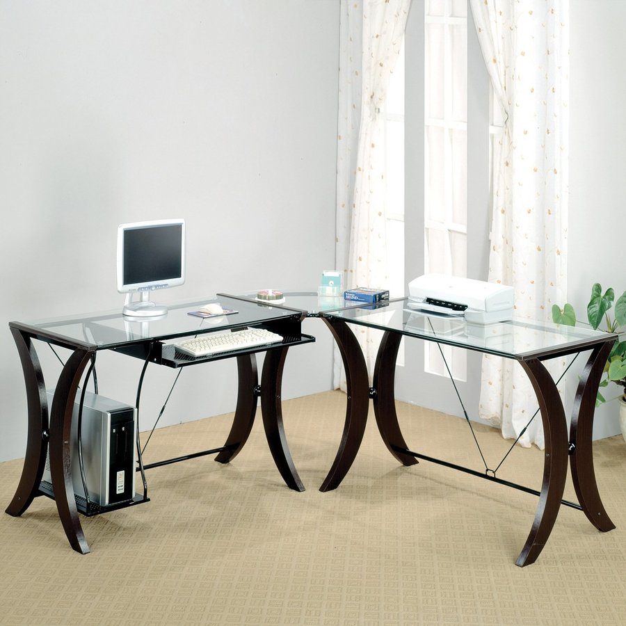 Coaster Fine Furniture Contemporary L Shaped Desk