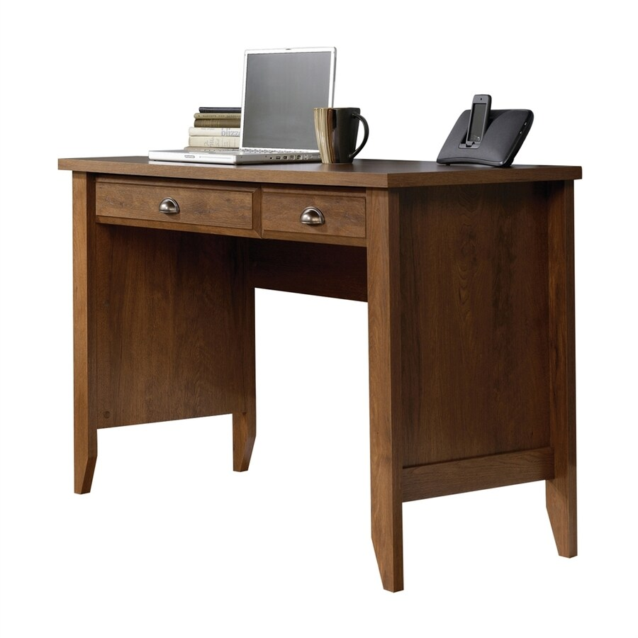 Sauder Shoal Creek Transitional Oiled Oak Computer Desk