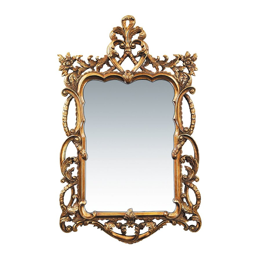 Sterling Home Gold Polished Wall Mirror