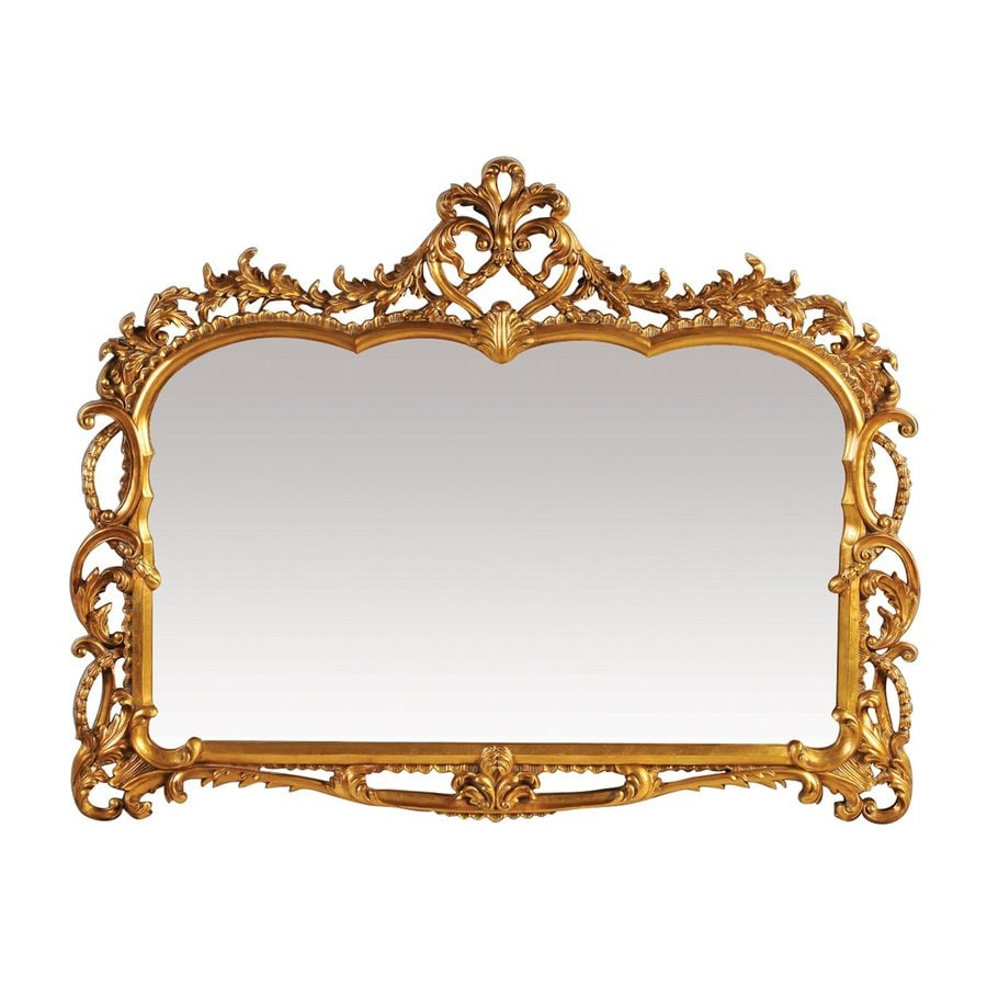 Sterling Home Capetian Gold Polished Wall Mirror