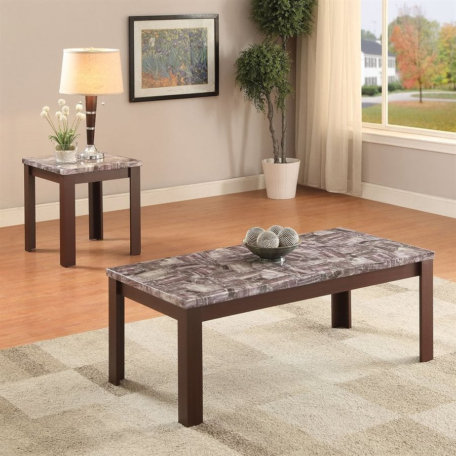ACME Furniture Arabia 2-Piece Accent Table Set