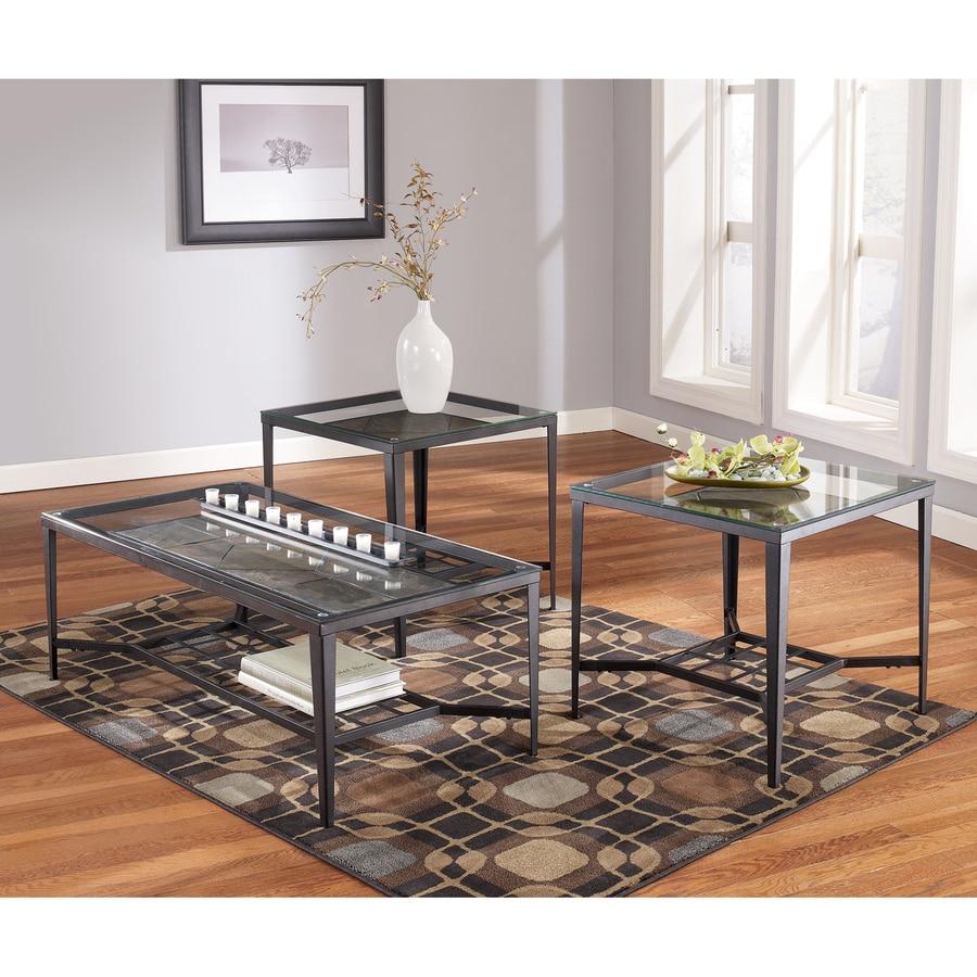 Signature Design by Ashley Calder 3-Piece Accent Table Set