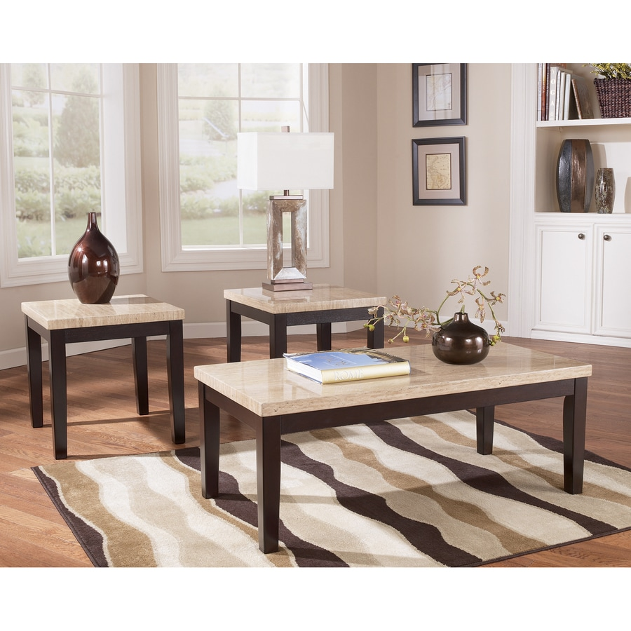 Beautiful Signature Design By Ashley Wilder 3 Piece Accent Table Set