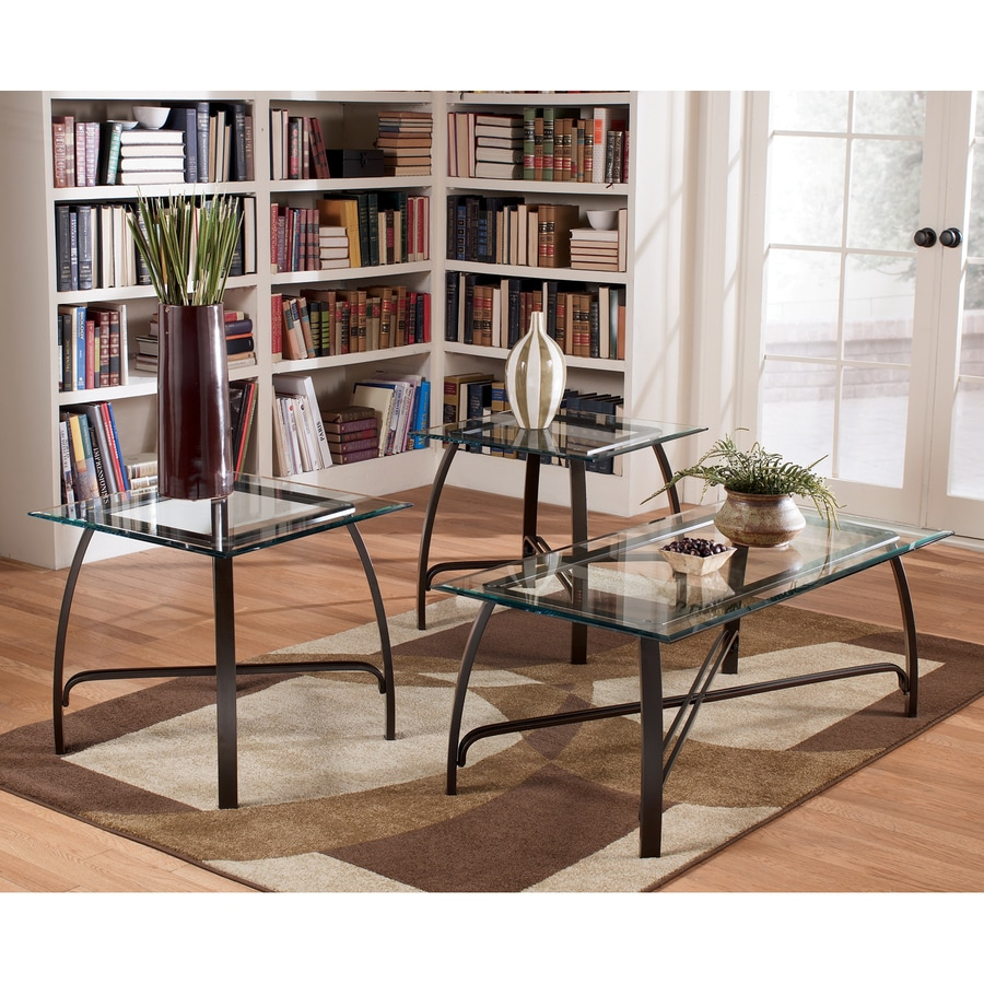 Signature Design by Ashley Liddy 3-Piece Accent Table Set