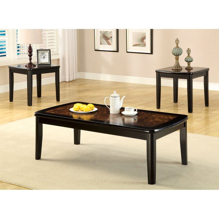 Furniture of America Hartly 3-Piece Accent Table Set