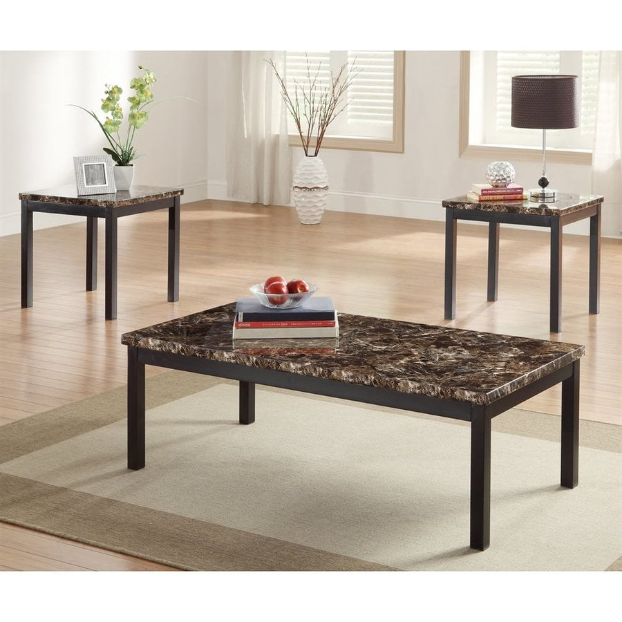 Homelegance Tempe 3-Piece Accent Table Set