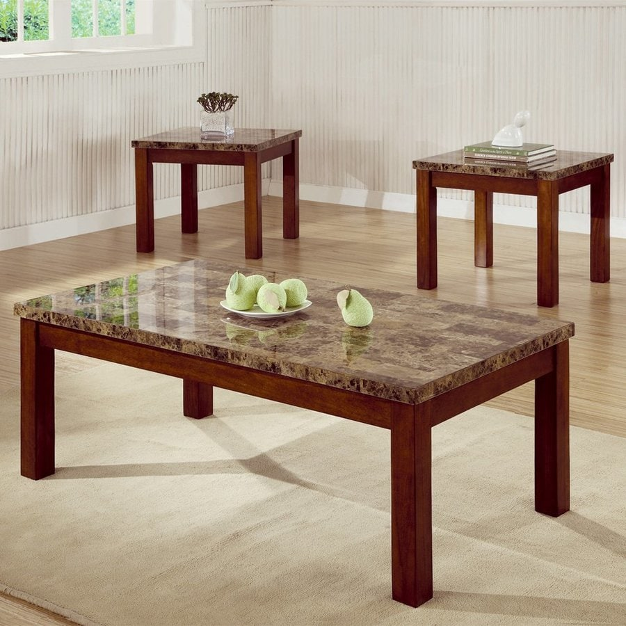 Shop Coaster Fine Furniture 3 Piece Accent Table Set At