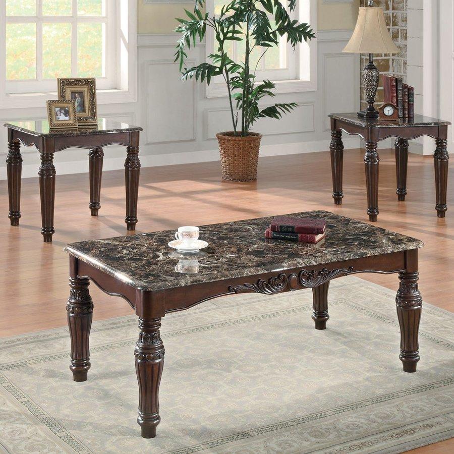 Coaster Fine Furniture 3-Piece Accent Table Set