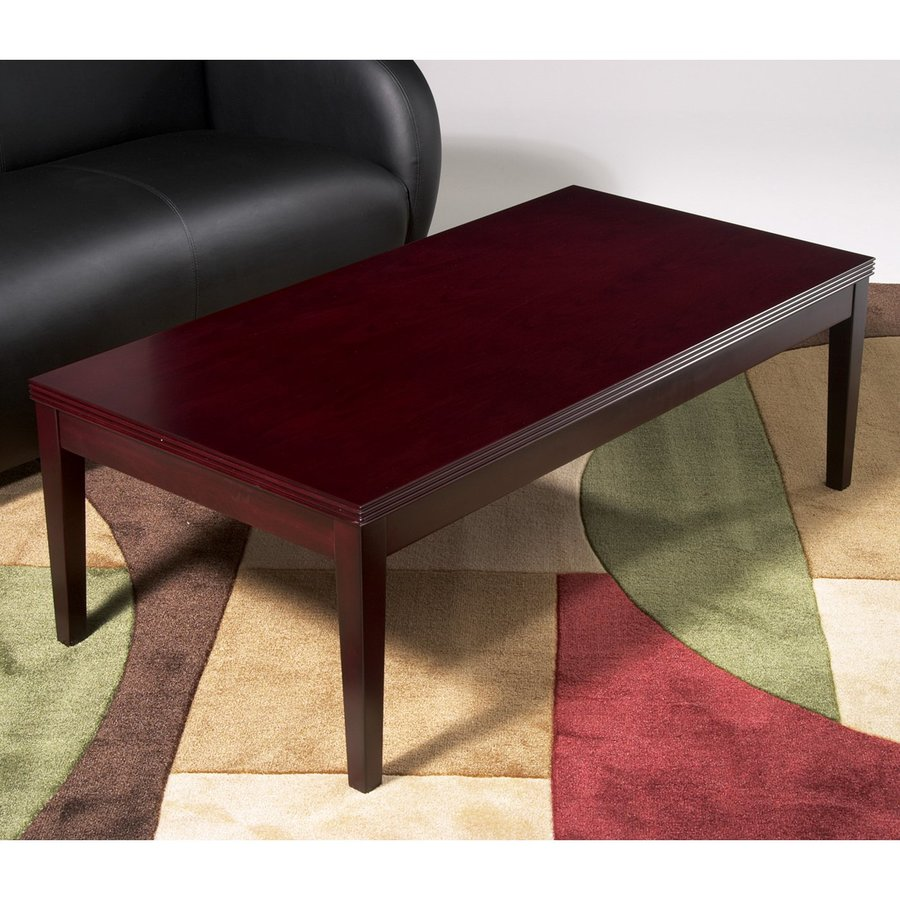 Office Star Ken Mahogany Coffee Table