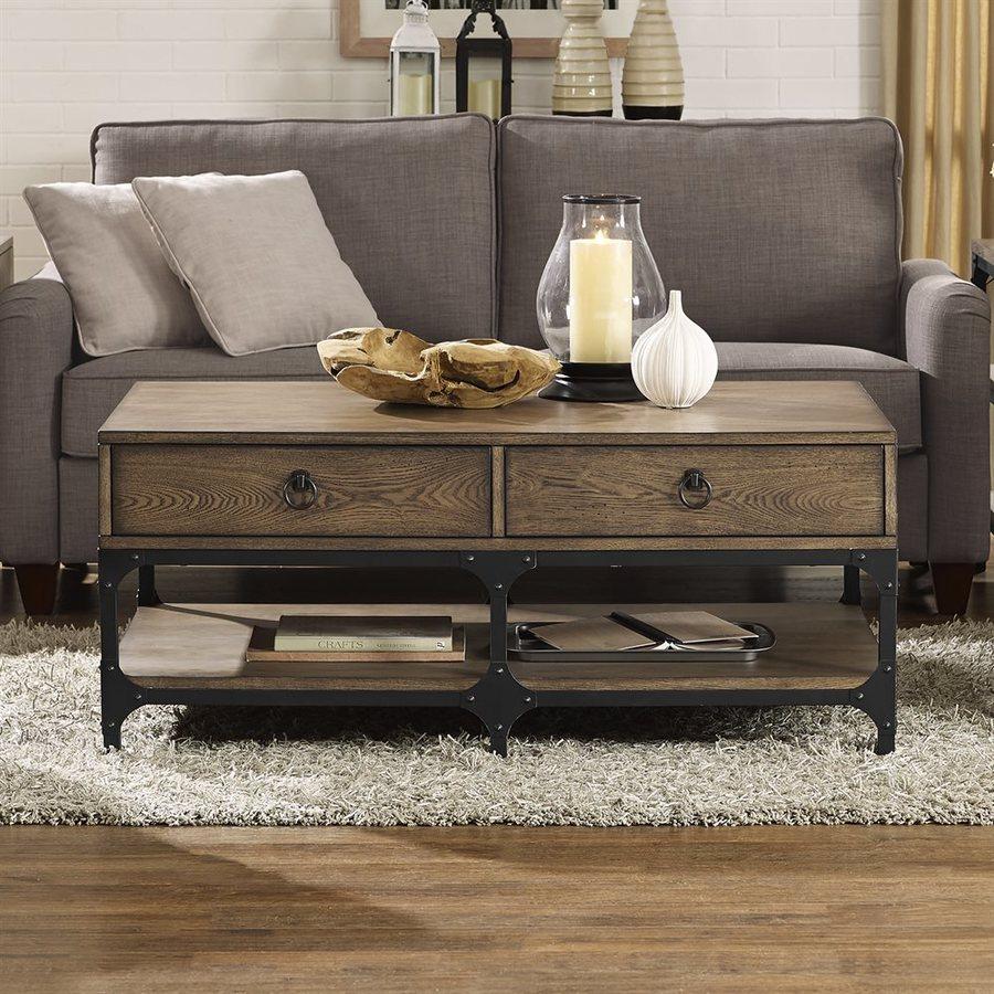 Charmant Crosley Furniture Trenton Rustic Ash Coffee Table