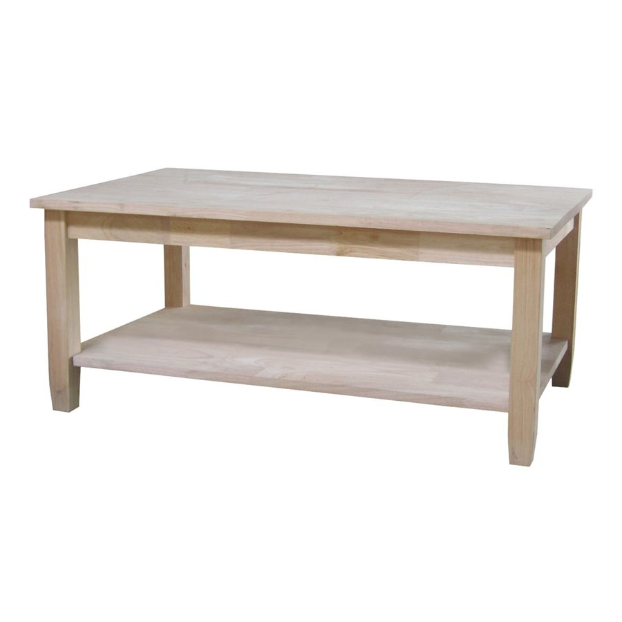 International Concepts Solano Natural Asian Hardwood Rectangular Coffee Table