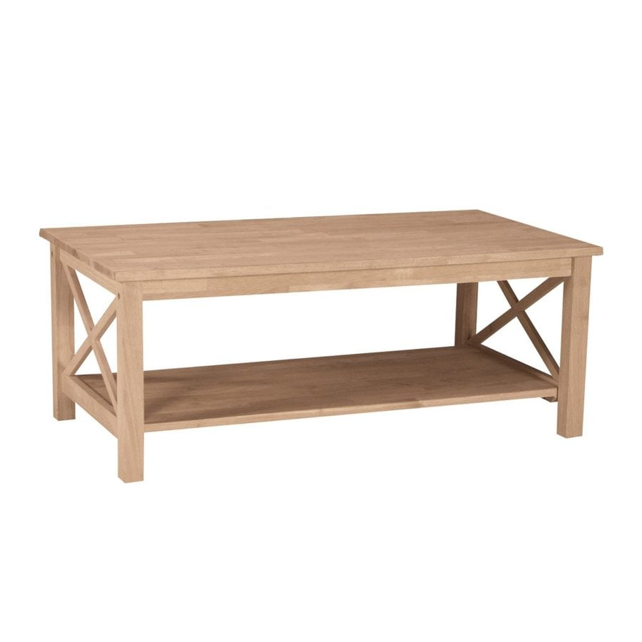 International Concepts Hampton Asian Hard Coffee Table