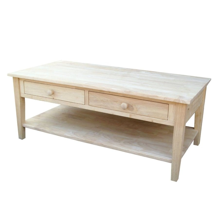 International Concepts Spencer Asian Hard Coffee Table