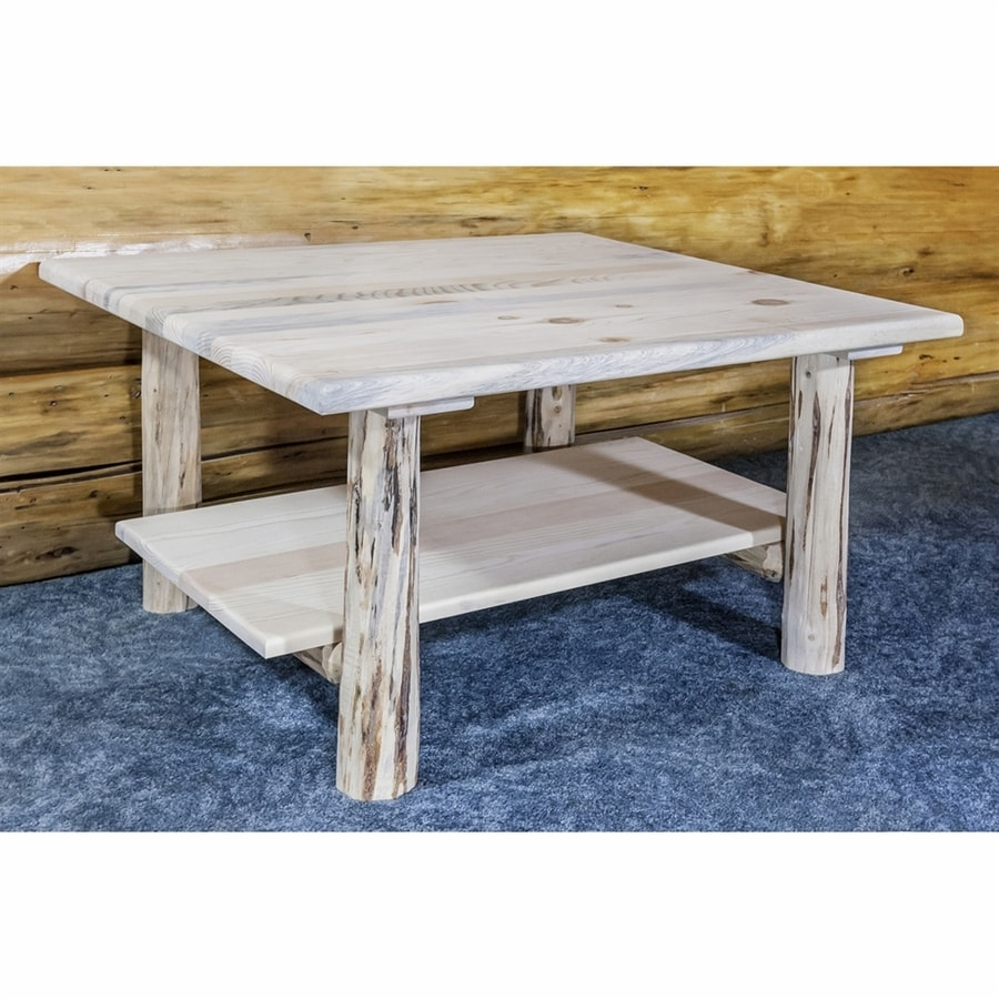 Montana Woodworks Pine Coffee Table