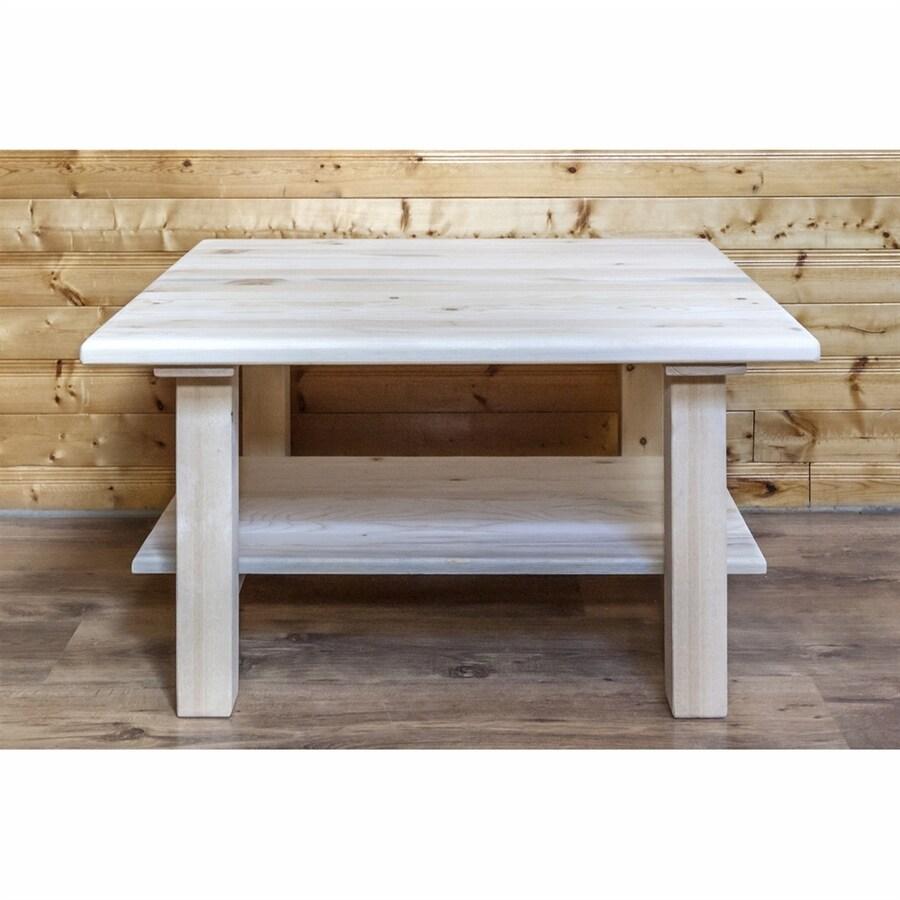 Montana Woodworks Homestead Pine Coffee Table