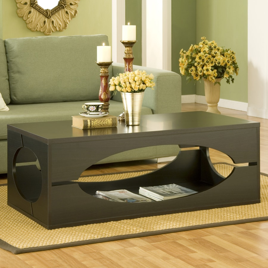 Enitial Lab Ovarly Coffee Table