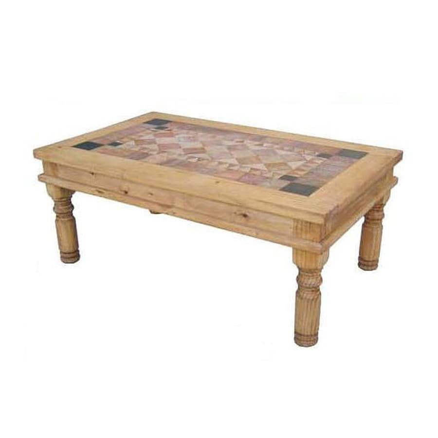 Shop Million Dollar Rustic Pine Coffee Table at Lowes