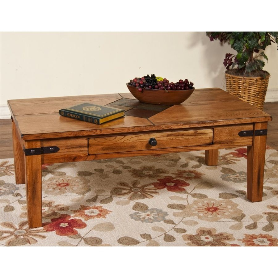 Sunny Designs Sedona Dark Chocolate Coffee Table