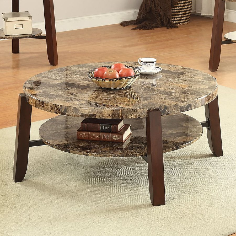 ACME Furniture Lilith Faux Marble Coffee Table