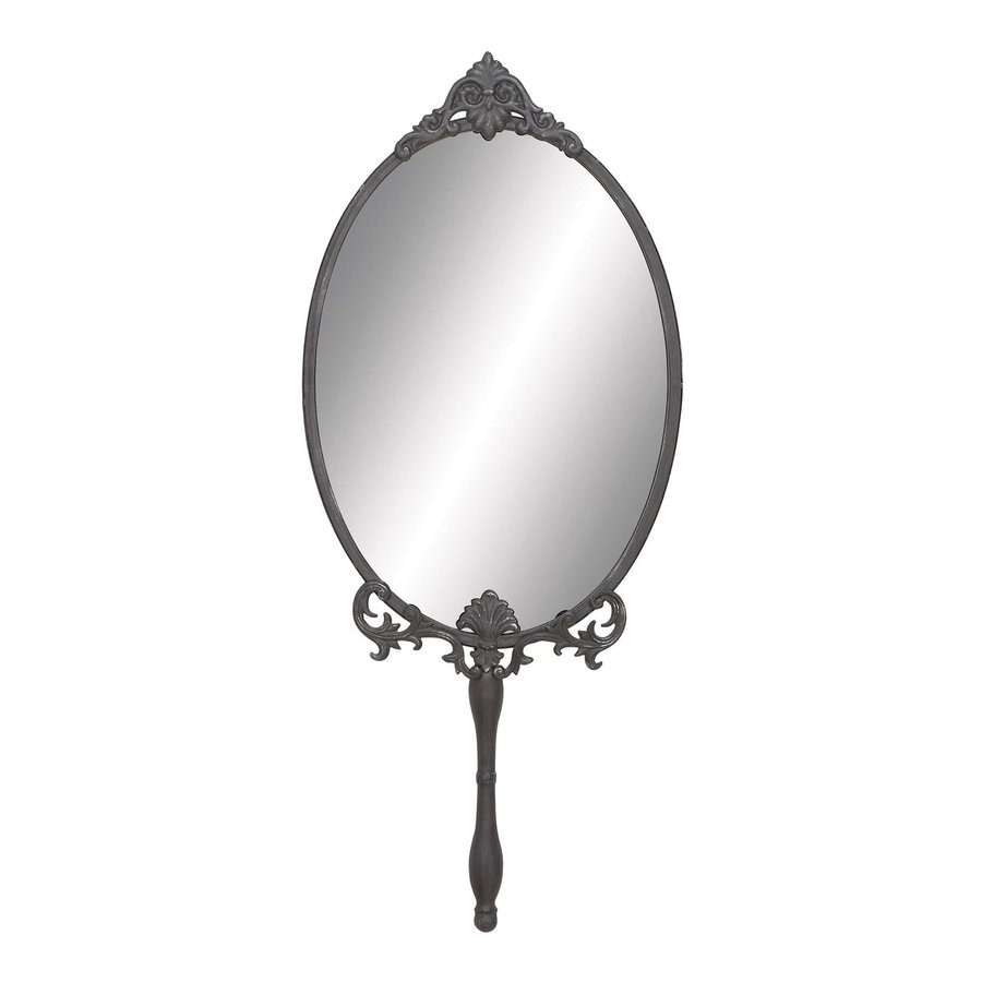Woodland Imports Framed Oval Wall Mirror