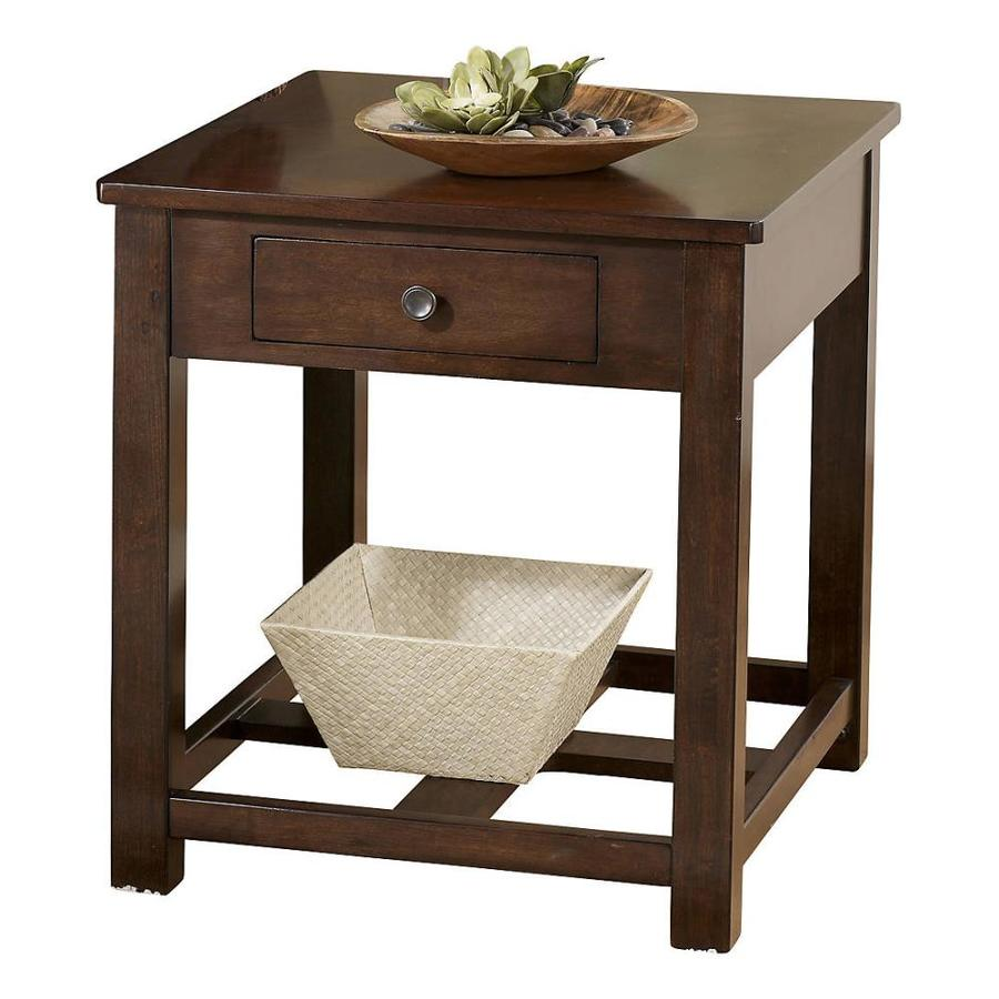 Signature Design by Ashley Marion Dark Brown Birch End Table