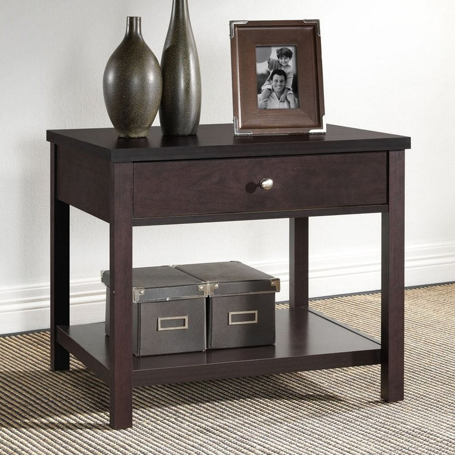 Baxton Studio Nashua Wenge End Table