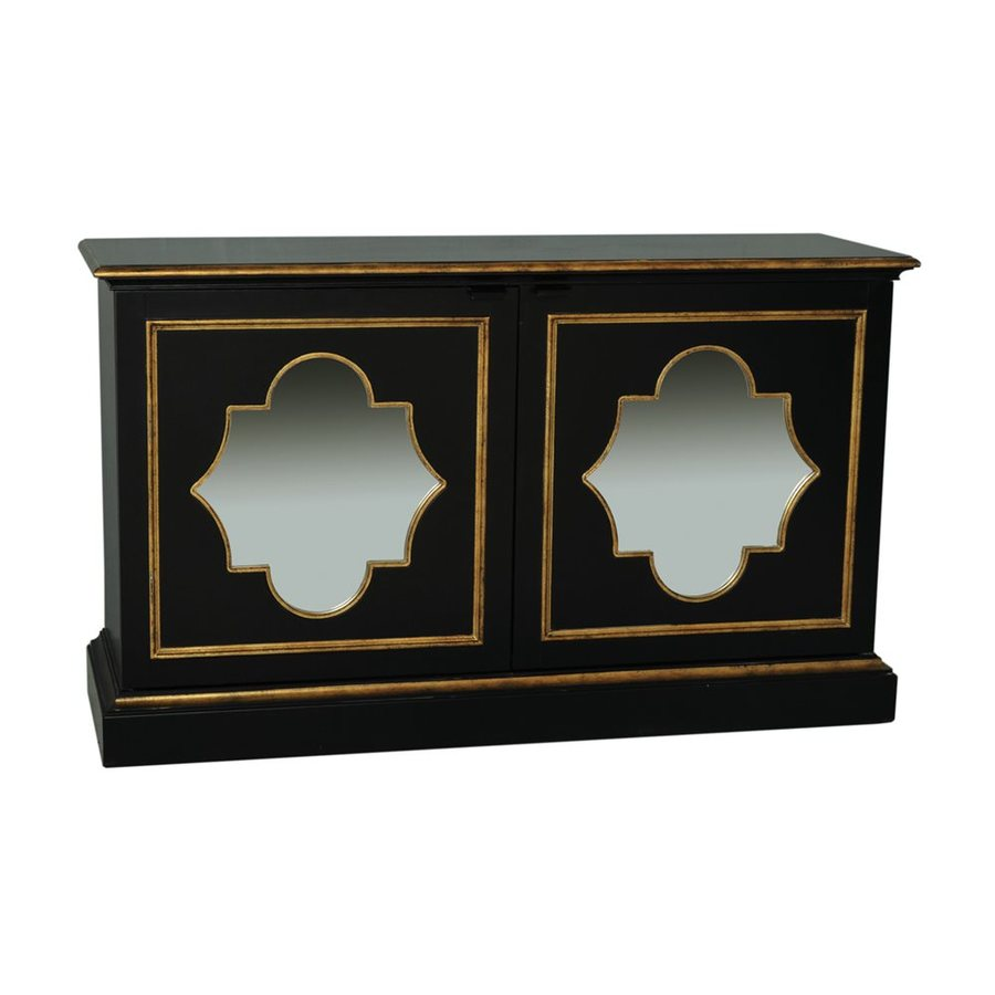 Accentrics Home Black/Gold Sideboard
