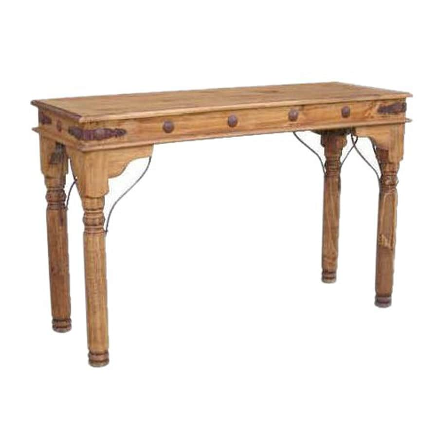 Shop Million Dollar Rustic Pine Sofa Table At