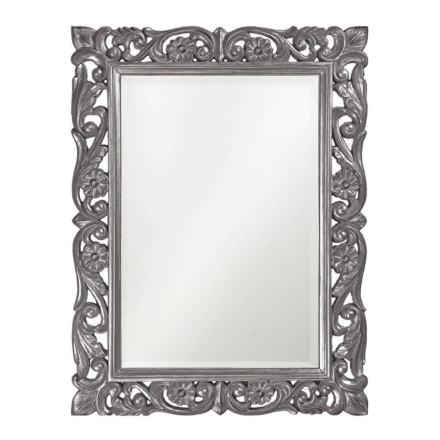 Tyler Dillon Chateau Charcoal Beveled Wall Mirror