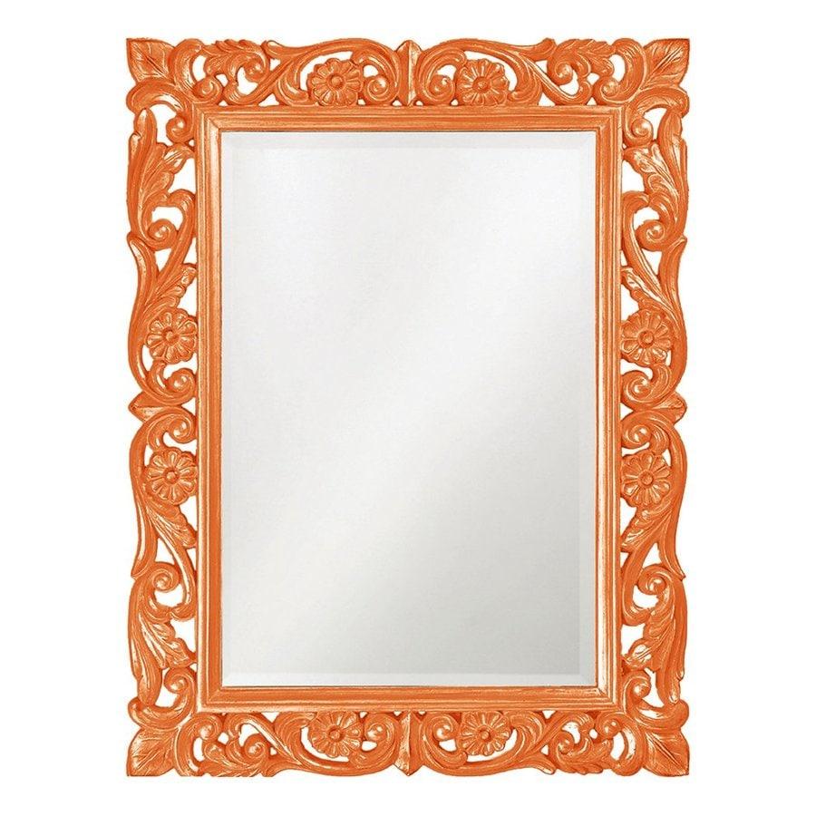 Tyler Dillon Chateau Orange Beveled Wall Mirror