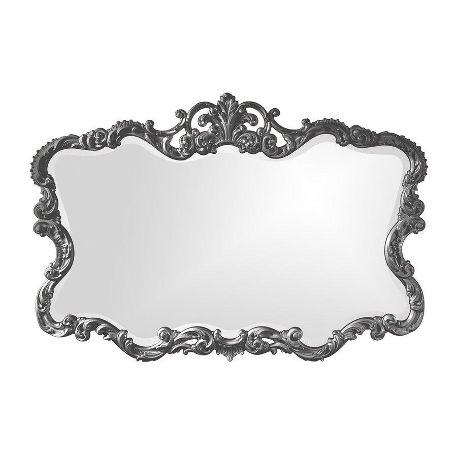 Tyler Dillon Talida Charcoal Beveled Wall Mirror