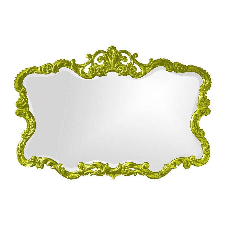 Tyler Dillon Talida Green Beveled Wall Mirror
