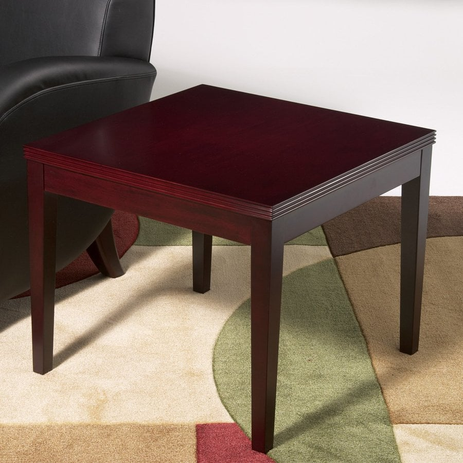 Office Star OSP Furniture Kenwood Mahogany End Table