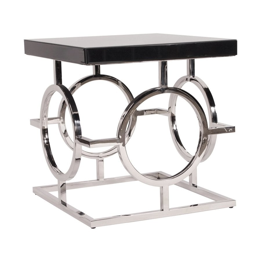 Tyler Dillon Glossy Black End Table