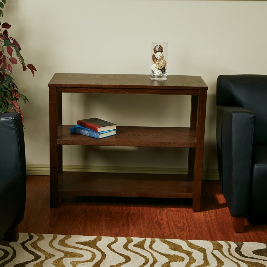 Office Star Work Smart Merge Ash Console Table