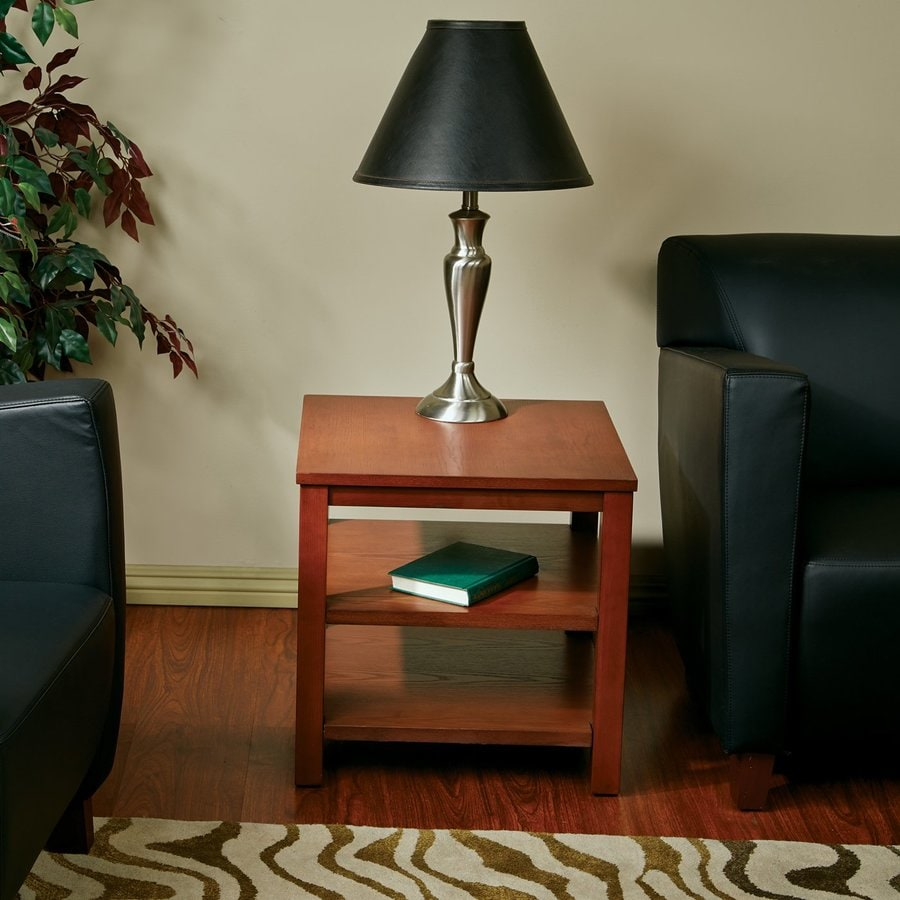 Office Star Ave Six Merge Cherry Ash End Table